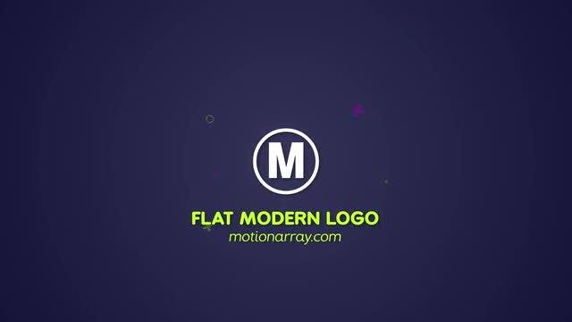 Modern Flat Logo: After Effects Templates