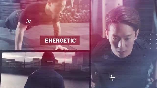 Fitness Motivation: Premiere Pro Templates