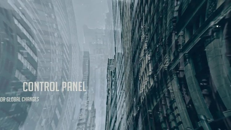 Parallax Intro: After Effects Templates