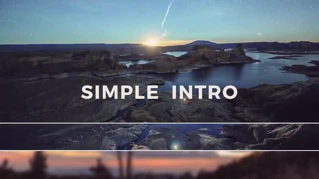 Simple Intro: After Effects Templates