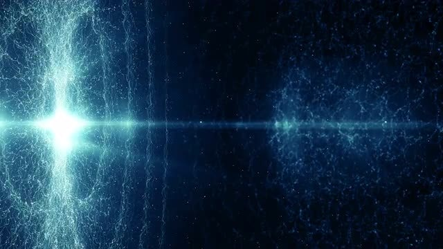 Blue Vortex Of Power Background: Stock Motion Graphics