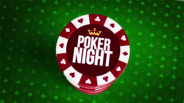 Online Poker Logo Reveal: After Effects Templates