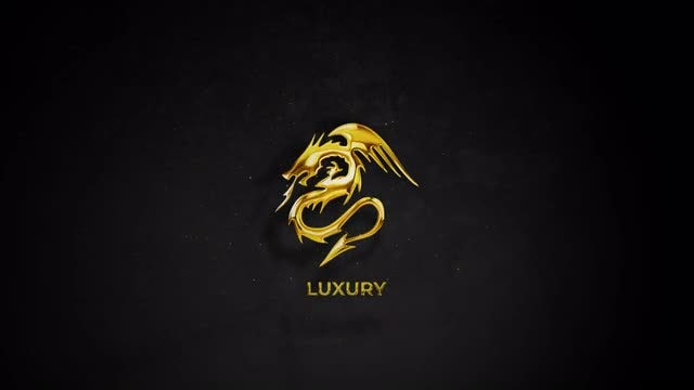 Gold & Silver Logo Reveal: After Effects Templates