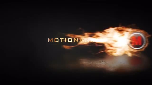 Fire Reveal: After Effects Templates