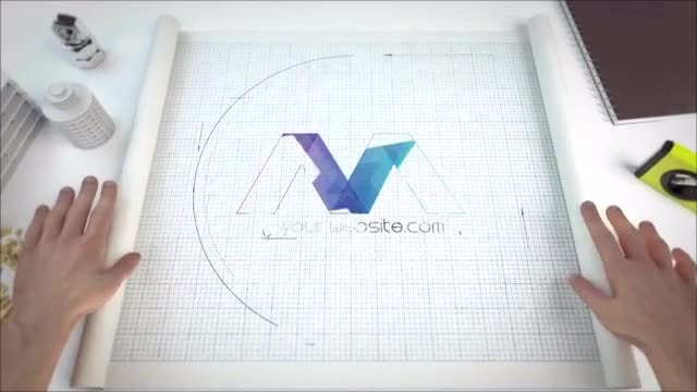 Blueprint Logo Reveals: After Effects Templates