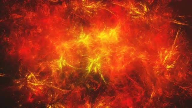 Abstract Red Space Nebula: Stock Motion Graphics