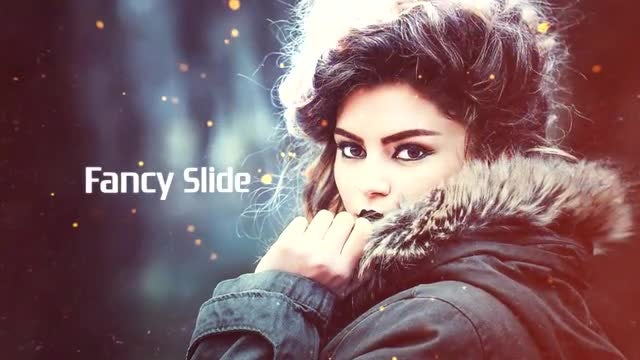 Fancy Slide: After Effects Templates