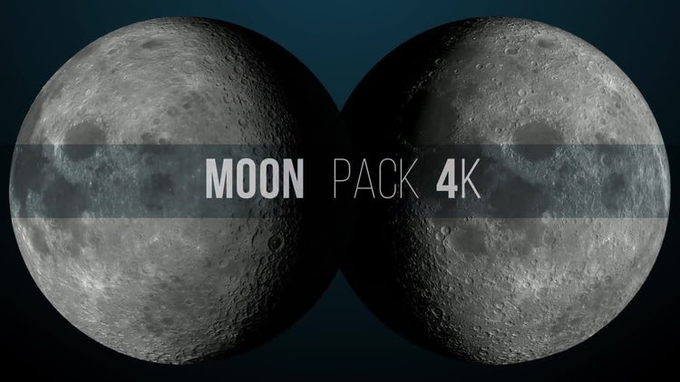 Moon Pack 4K: Motion Graphics