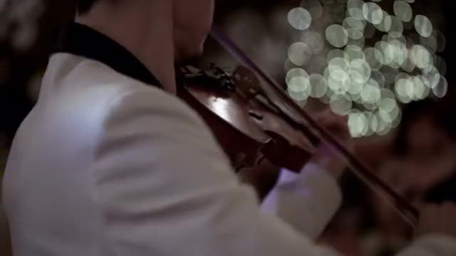 Playing The Violin: Stock Video