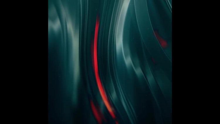 Smooth Flowing Dark Metal: Stock Motion Graphics