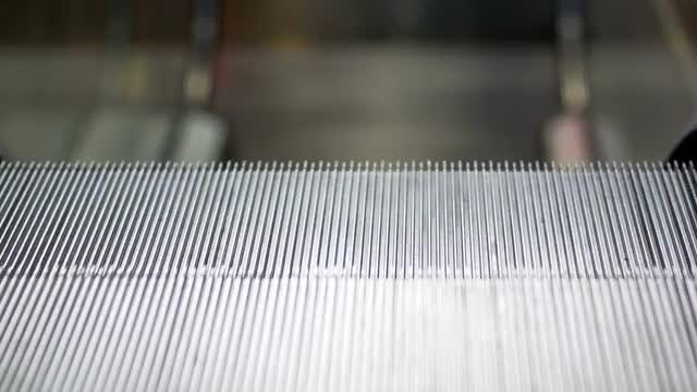 An Escalator: Stock Video