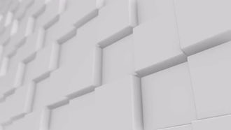White Cube Background 4K: Motion Graphics