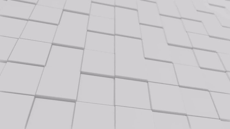 White Cubes: Motion Graphics