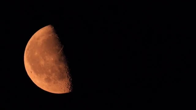 The Moon: Stock Video