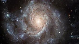 Galaxy Rotation: Motion Graphics