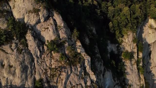 Close-up Shot Of A Mountain: Stock Video