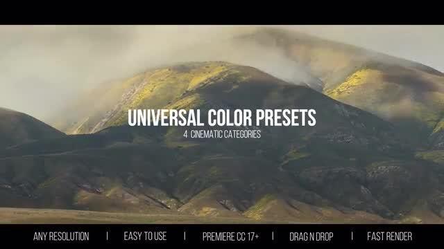 Universal Color Presets: Premiere Pro Presets