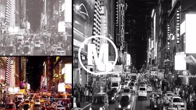 Glitch Urban Opener: Premiere Pro Templates