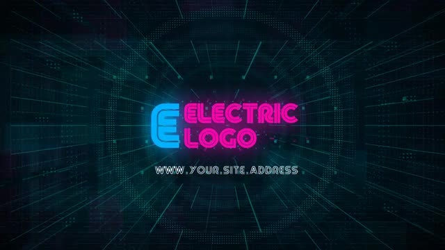 Electric Logo: After Effects Templates