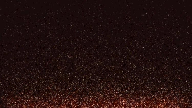Golden Sparks Background: Motion Graphics