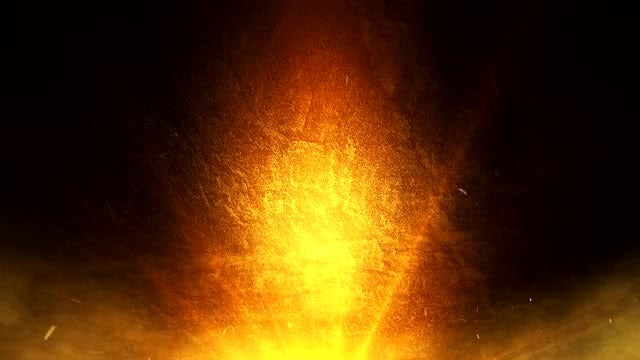Orange Glow Background: Stock Motion Graphics