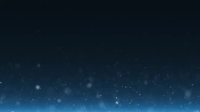 Rising Light Particles Blue Background: Stock Motion Graphics
