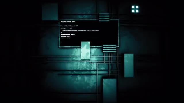 Dark Tech Wall Loop: Stock Motion Graphics