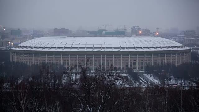 Luzhniki Stadium: Stock Video