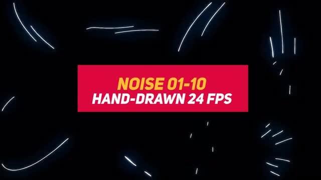 Liquid Elements 3 Noise 01-10: Stock Motion Graphics