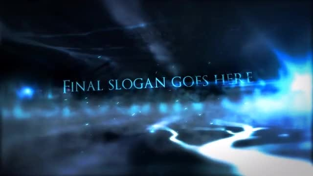 Dark Intro: After Effects Templates