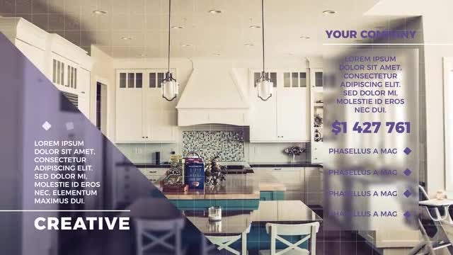 Clean Estate Promo: After Effects Templates