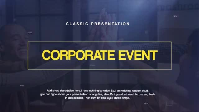 Corporate Event: Premiere Pro Templates
