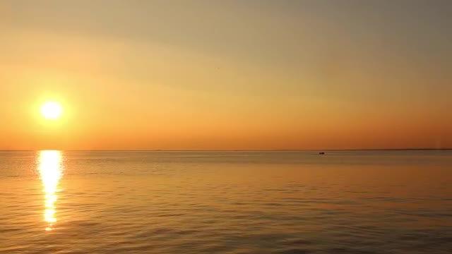 Autumn Sunset: Stock Video