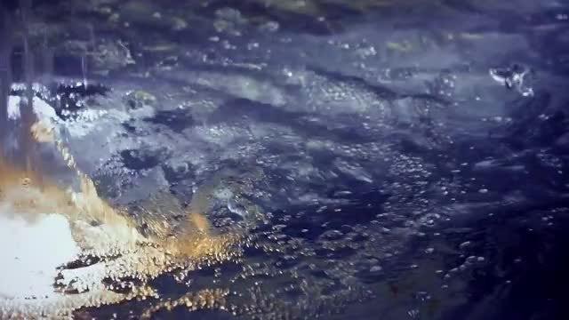 Fountain Water Splashes: Stock Video