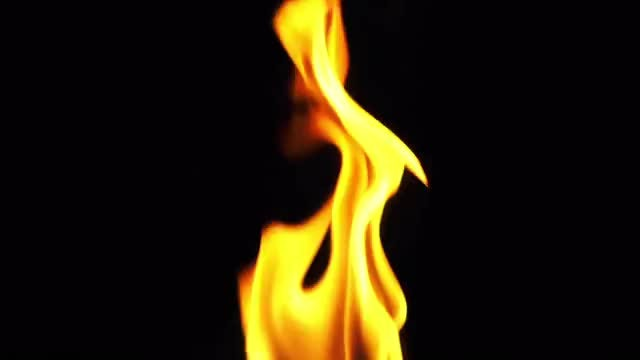 Bright Flame Background: Stock Video