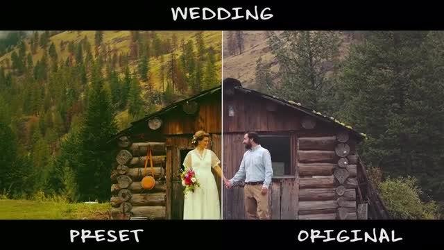 Wedding Color Presets: Premiere Pro Presets