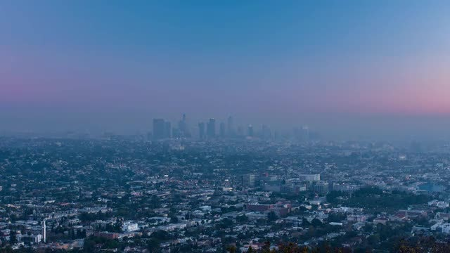 Time Lapse Of Los Angeles: Stock Video