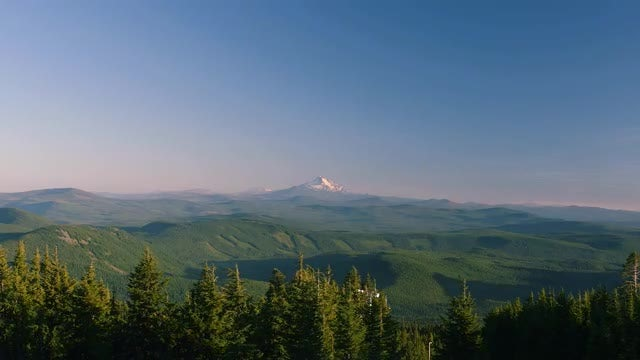 Time Lapse Of Mountain Range: Stock Video