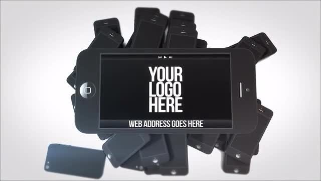 Professional Phone Commercial: After Effects Templates