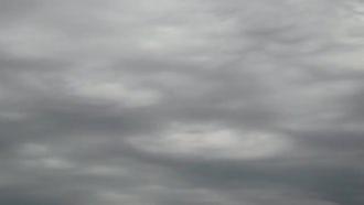 Rain Clouds Like Ocean: Stock Video