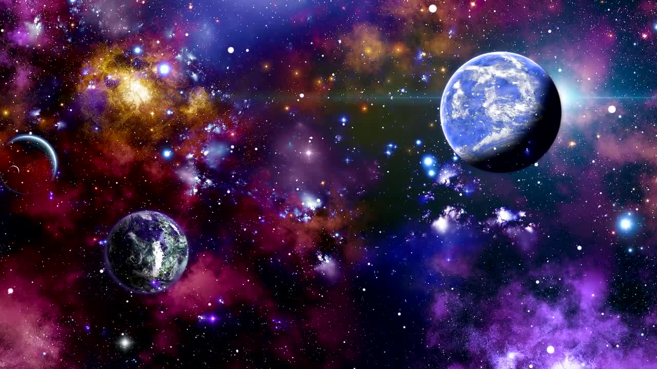 Space Background Stock Motion Graphics Motion Array