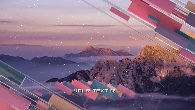 Colorful Details Slideshow: Premiere Pro Templates
