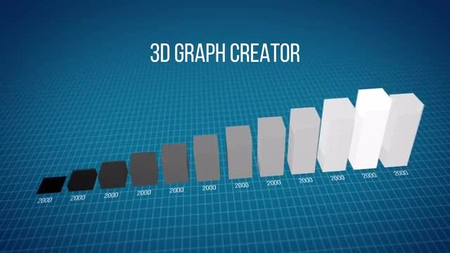 3D Graph Creator: After Effects Templates