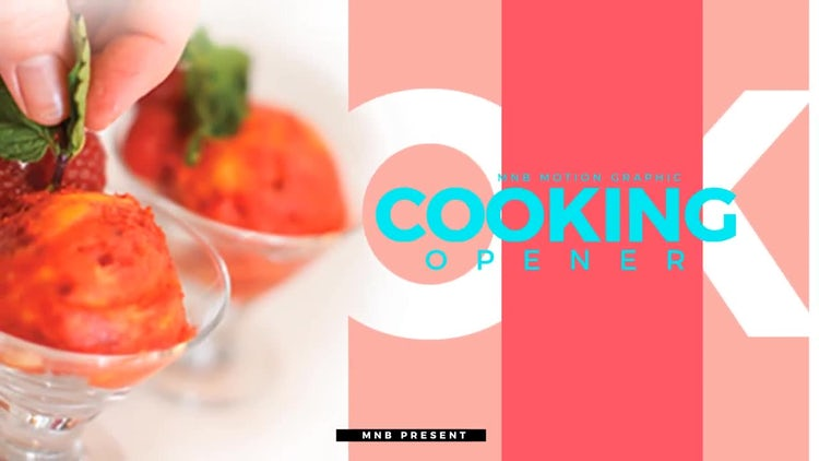 Cooking Pack: After Effects Templates