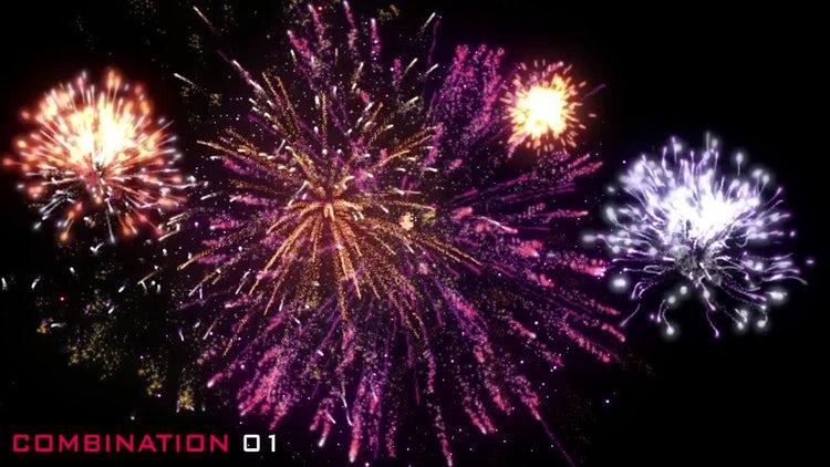 Fireworks Pack Volume 01: Stock Motion Graphics