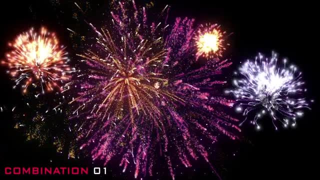 Fireworks Pack Volume 01: Stock Motion Graphics