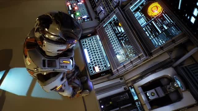 Astronaut Of The Future: Stock Motion Graphics