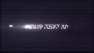 Type Jump: After Effects Templates