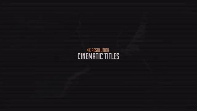 cinematic titles after effects templates motion array. Black Bedroom Furniture Sets. Home Design Ideas