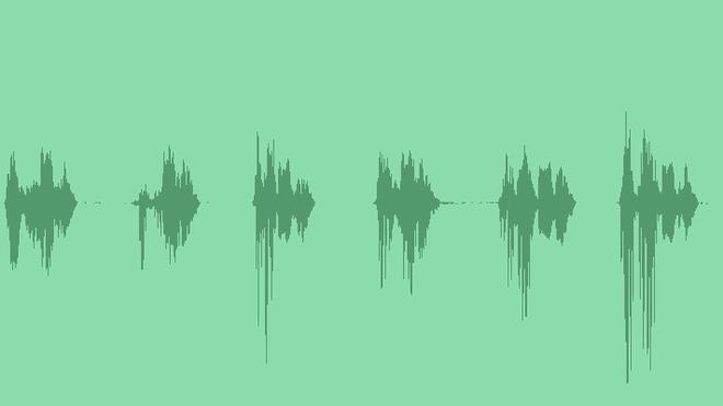Man Says Aha: Sound Effects